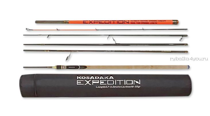Спиннинг Kosadaka Expedition 6S-Dual 270/300см (15-45гр)