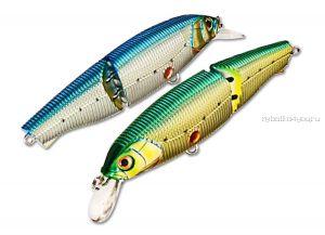 Воблер Yo-Zuri Sashimi Jointed  SW Артикул: R970 цвет: CMNI/ 100 мм /18 гр / Заглубление (м) : 0,1 - 0,9