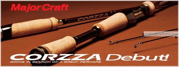 Кастинг Major Craft Corzza CZC-652ML 1.96м / тест 5.25-14гр