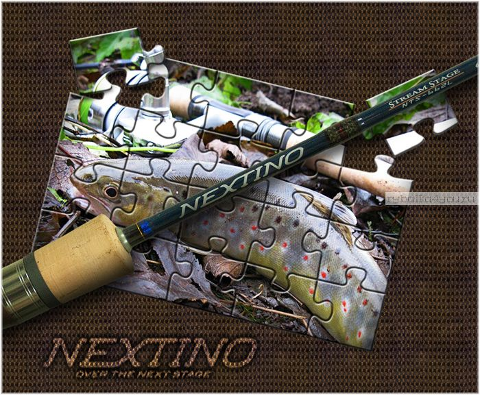 Спиннинг  Major Craft Nextino Stream Category NTS-482UL 1.45м / тест 1-8гр