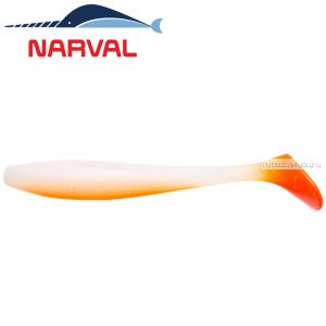 Мягкие приманки Narval Choppy Tail 12sm #010 White Rabbit (4 шт в уп)