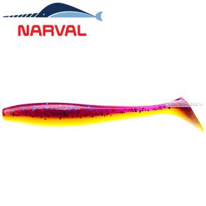 Мягкие приманки Narval Choppy Tail 12sm #007 Purple Spring (4 шт в уп)