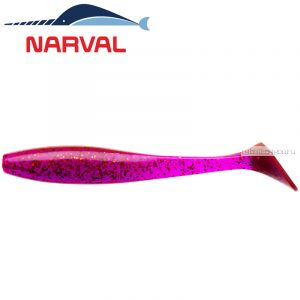 Мягкие приманки Narval Choppy Tail 12sm #003 Grape Violet (4 шт в уп)