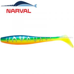Мягкие приманки Narval Choppy Tail 12sm #002 Blue Back Tiger (4 шт в уп)