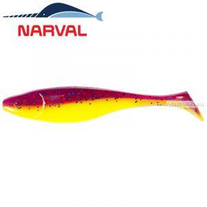 Мягкие приманки Narval Commander Shad 12sm #007 Purple Spring (4 шт в уп)