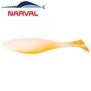 Мягкие приманки Narval Commander Shad 16sm #010 White Rabbit (3 шт в уп)