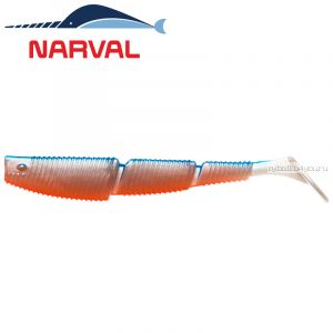 Мягкие приманки Narval Complex Shad 10sm #001 Blue Back Shiner (4 шт в уп)