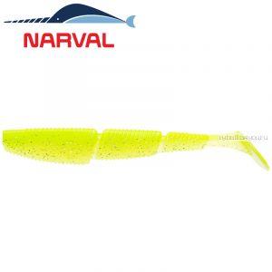 Мягкие приманки Narval Complex Shad 12sm #004 Lime Chartreuse (4 шт в уп)