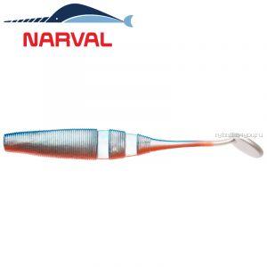 Мягкие приманки Narval Loopy Shad 12sm #001 Blue Back Shiner (4 шт в уп)