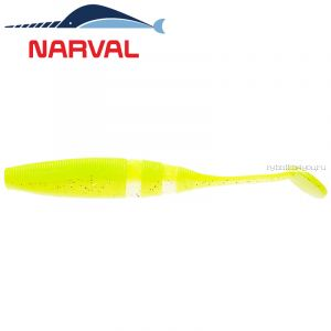 Мягкие приманки Narval Loopy Shad 9sm #004 Lime Chartreuse (5 шт в уп)