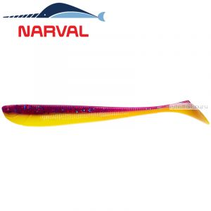 Мягкие приманки Narval Slim Minnow 11sm #007 Purple Spring (5 шт в уп)