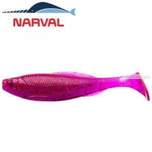 Мягкие приманки Narval Troublemaker 12sm #003 Grape Violet (4 шт в уп)