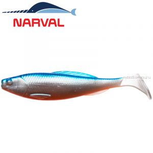 Мягкие приманки Narval Troublemaker 12sm #001 Blue Back Shiner (4 шт в уп)
