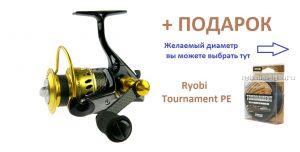 Катушка Ryobi ZAUBER СF 1000 + шнур Ryobi PE Tournament 4x 120 м в подарок!
