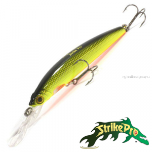 Воблер Strike Pro Magic Minnow 100 13,5gr #SM63F