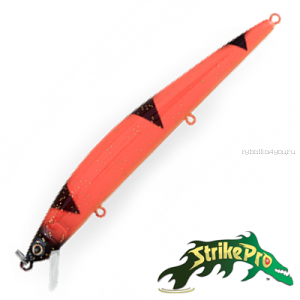 Воблер Strike Pro Slingshot Minnow 120F 14,4gr #C31