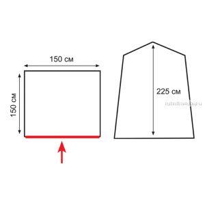 Палатка душ/туалет Totem Privat (TTT-012)