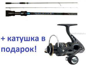 Спиннинг AIKO Valkyrja 852M 257 см 9-24 гр+ катушка Cormoran Black Master 3000  в подарок!