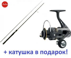 Спиннинг Aiko Shooter 902 ML ( 273 см 7-21 гр)+ катушка Cormoran Black Master 3000  в подарок!