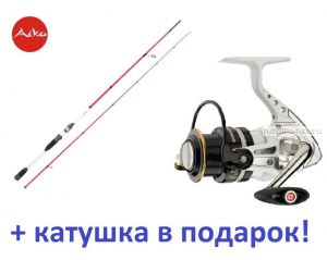 Aiko  ReSSens 273M 273 см 4-28 гр+ катушка Cormoran Pearl Master 2500  в подарок!