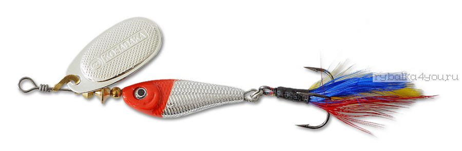 Блесна Kosadaka Quant RS № 4  17 гр / цвет RH-Silver