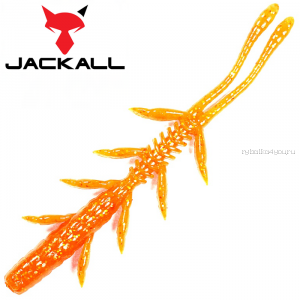 "Мягкая приманка Jackall Scissor Comb 2,5""   / упаковка 10 шт / цвет: orange gold"