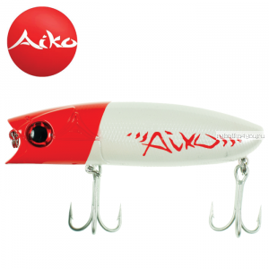 Воблер Aiko Muller 100F 100 мм / 28 гр / Заглубление: 0-0,1 м / цвет: AIKOred head