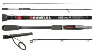 Спиннинг Aiko Arsenal ARS892M 267 см 9-36 гр