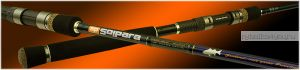 Спиннинг  Major Craft SolPara SPS-S702 M 2.13м / тест 0.5-5гр