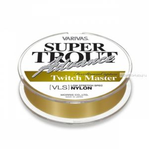 Монофильная леска Varivas Super Trout Advance Twich Master Nylon 100 м