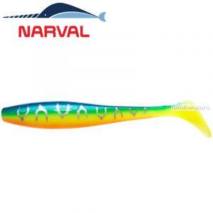 Мягкие приманки Narval Choppy Tail 12sm #002 Blue Back Tiger (4 шт в уп)