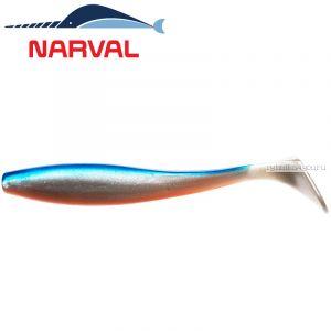 Мягкие приманки Narval Choppy Tail 12sm #001 Blue Back Shiner (4 шт в уп)