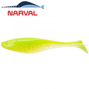 Мягкие приманки Narval Commander Shad 12sm #004 Lime Chartreuse (4 шт в уп)