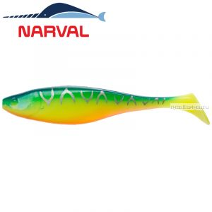 Мягкие приманки Narval Commander Shad 12sm #002 Blue Back Tiger (4 шт в уп)