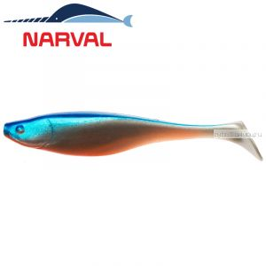 Мягкие приманки Narval Commander Shad 14sm #001 Blue Back Shiner (3 шт в уп)