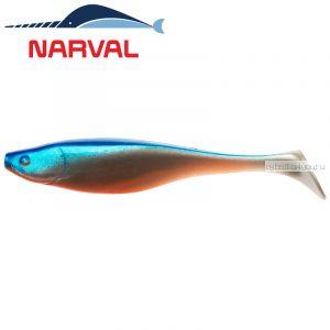 Мягкие приманки Narval Commander Shad 16sm #001 Blue Back Shiner (3 шт в уп)