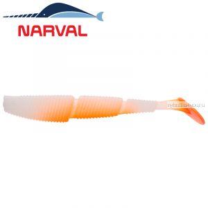 Мягкие приманки Narval Complex Shad 12sm #010 White Rabbit (4 шт в уп)