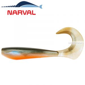 Мягкие приманки Narval Curly Swimmer 12sm #008 Smoky Fish (4 шт в уп)