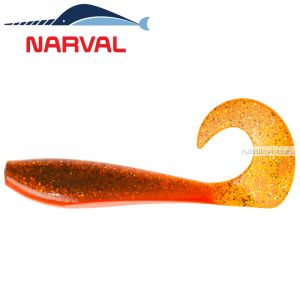 Мягкие приманки Narval Curly Swimmer 12sm #005 Magic Motoroil (4 шт в уп)