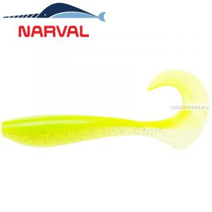 Мягкие приманки Narval Curly Swimmer 12sm #004 Lime Chartreuse (4 шт в уп)