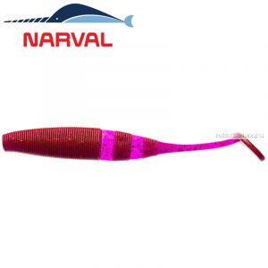 Мягкие приманки Narval Loopy Shad 9sm #003 Grape Violet (5 шт в уп)