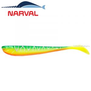 Мягкие приманки Narval Slim Minnow 11sm #002 Blue Back Tiger (5 шт в уп)