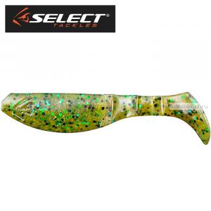 """Виброхвост Select Footer 3"""" 75 мм /упаковка 5 шт/ цвет: 008"""