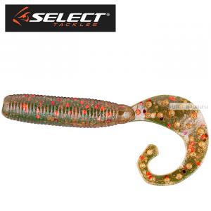 """Твистер Select Geely 4"""" 100 мм /упаковка 5 шт/ цвет: 085"""
