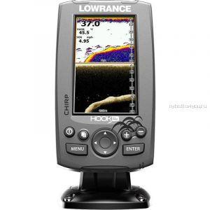 Эхолот  Lowrance Hook-4x Mid/High/DownScan (Артикул: 000-12641-001)