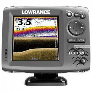 Эхолот  Lowrance Hook-5x Mid/High/DownScan (Артикул: 000-12653-001)