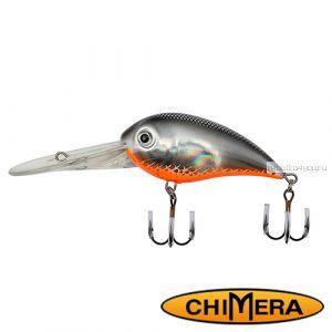 Воблер Chimera Siver Fox Bomber 70DR  / цвет: 009 / 70 мм / 22 гр/ Заглубление: 2,5-6,5м