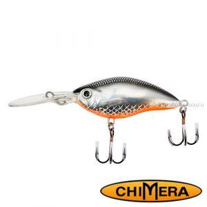 Воблер Chimera Siver Fox Crank 70DR  / цвет: 009 / 70 мм / 15 гр/ Заглубление: 1,5-4м