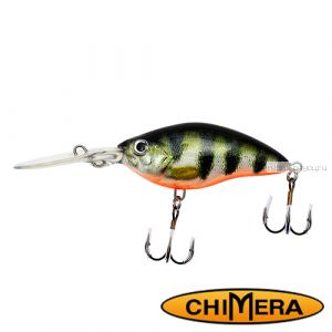 Воблер Chimera Siver Fox Crank 70DR  / цвет: 008 / 70 мм / 15 гр/ Заглубление: 1,5-4м