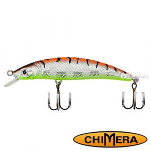 Воблер Chimera Siver Fox Fat Minoow 100FL / цвет: 007 / 100 мм / 13 гр/ Заглубление: 1-2м